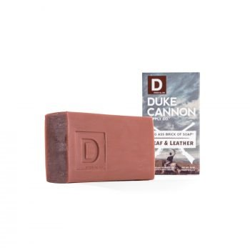 Big Ass Brick of Soap - Leaf and Leather   experience this American-made soap inspired by leaf and leather.