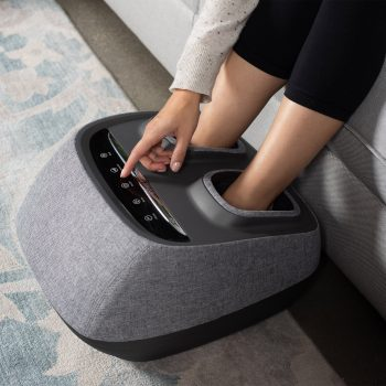Arch Refresh-Premium Kneading+Vibration Heated Foot Massager   You?ll experience a multitude of styles of massage therapy