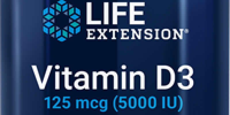 Life Extension | Vitamin D3 | The sunshine vitamin is key to strong bones & immune health