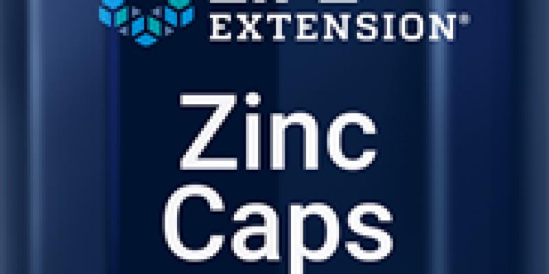 Life Extension | Zinc Caps |  50 mg, 90 vegetarian capsules