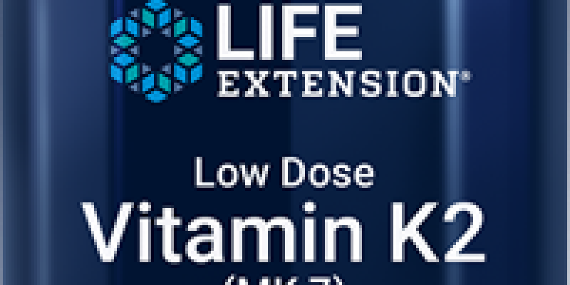 Life Extension | Low Dose Vitamin K2 | Supports arterial health – form of vitamin K2, which metabolizes slowly.