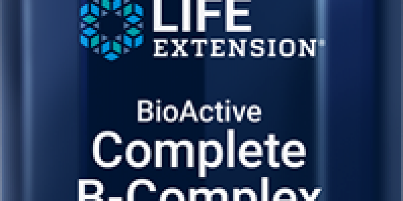 Life Extension | BioActive Complete B-Complex |  Our most complete formula for vitamin B benefits