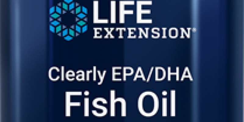 Life Extension | Clearly EPA/DHA Fish Oil |  Potent fish oil benefits in a small, transparent softgel