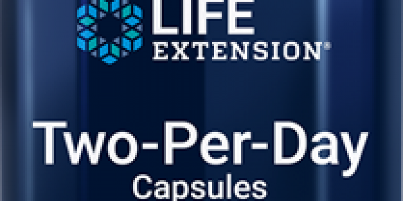 Life Extension   Two-Per-Day Capsules    Healthy dose of multivitamins & minerals