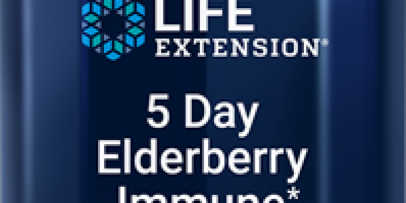 Life Extension | 5 Day Elderberry Immune (Berry Flavor) | These chewable vegetarian tablets provide elderberry extract, a blast of zinc and vitamin C to support healthy immune response