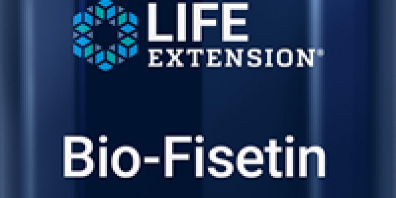 Life Extension | Bio-Fisetin |  Optimized cellular, cognitive and longevity support formula
