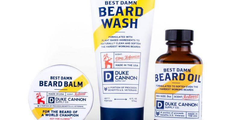 Duke Cannon | Beardman's Box | Duke Cannon's Beardsman's Box represents the Triple Crown in premium beard goods.