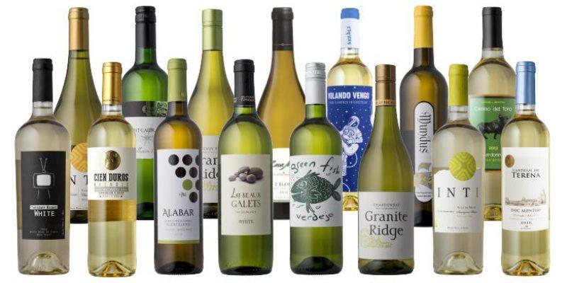 Splash Wines | Fifteen Different Whites | ultimate white wine lover's pack–15 different white wines for your sampling pleasure.