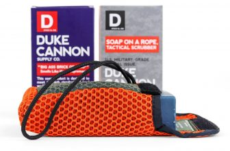Duke Cannon | Tactical Scrubber + Soap Bundle | This U.S. military-grade tactical soap pouch should be standard-issue for every shower.