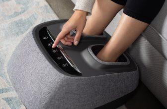 Brookstone | Arch Refresh-Premium Kneading+Vibration Heated Foot Massager