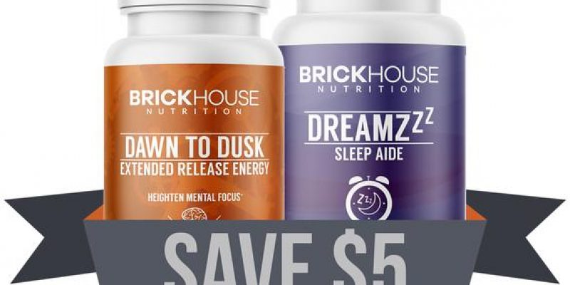 Brickhouse Nutrition | Dawn to Dreamzzz Pack | lets you fly through the day with up to 10 hours of clean energy