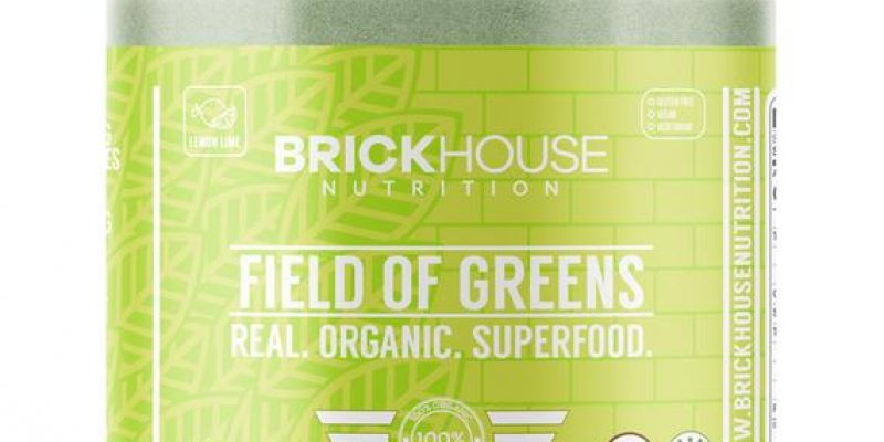 Brickhouse Nutrition | Field of Greens Lemon Lime | One scoop of Field of Greens Lemon Lime contains fruits, veggies, and more to support overall well-being