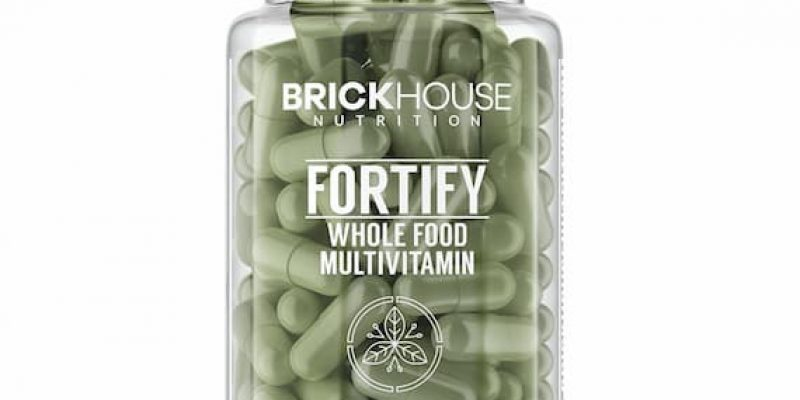 Brickhouse Nutrition | Fortify | whole food multivitamin with 20+ minerals and vitamins that are sourced from real food