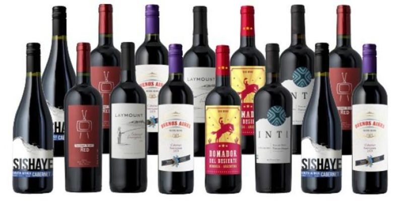 Splash Wines | Premium Cabernets 15-Pack | This case is full of superb Cabs, with selections from Italy, South Africa, Argentina, and Chile