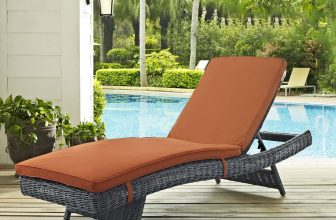 LexMod | Summon Outdoor Patio Sunbrella? Chaise | Summon offers an exquisite two-tone synthetic rattan weave, plush all-weather cushions with industry-leading Sunbrella? fabric, UV protection