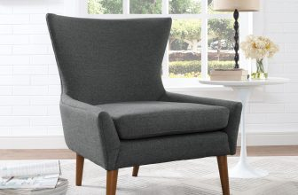 LexMod | Keen Upholstered Fabric Armchair | Organically crafted with an expansive wingtip design, comfortable plush seat cushion, and supportive seat back