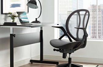 LexMod | Conduct Mesh Office Chair | Designed with a sturdy nylon base and sleek ergonomic design, Conduct features a breathable mesh back with passive lumbar support