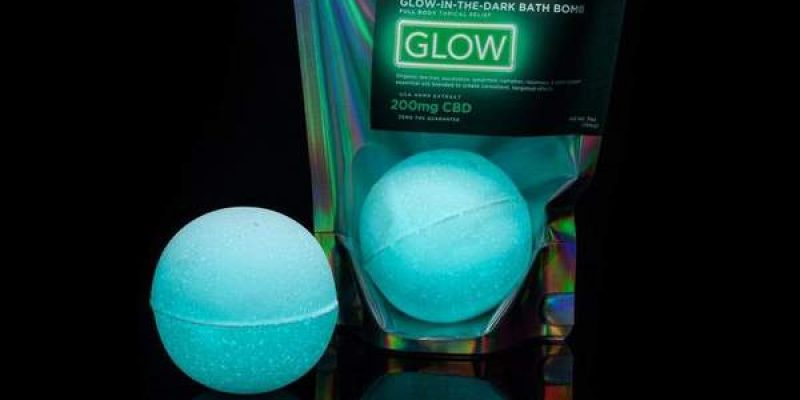 Kush Queen   Glow CBD Bath Bomb 200mg   the Entourage Effect occurs when you combine cannabinoids with terpenes/essential oils