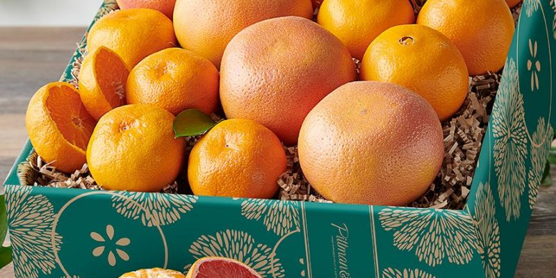 Pittman and Davis | Navel Oranges, Ruby Red Grapefruit & Tangelos | Three distinctly wonderful citrus fruits are combined in a sure-to-please gift