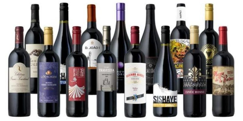 Splash Wines | Red Wine Lover's Paradise | 15 unique bottles from Cabernet to Pinot Noir and everything in between, including the fantastic Radford Dale Syrah.